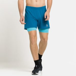 Short de running 2-en-1 Zeroweight 12 cm